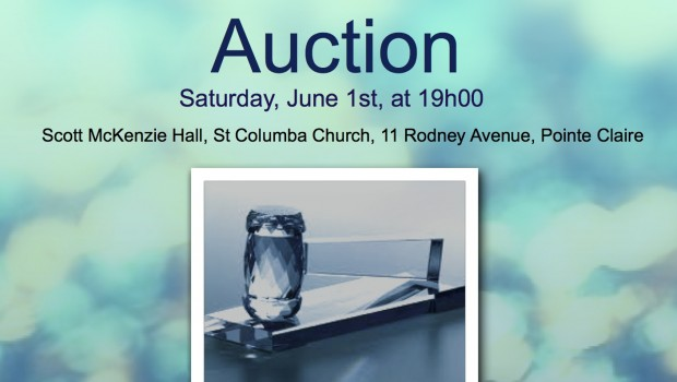 St. Columba&#8217;s auction takes place on Saturday, June 01 beginning at 19h00. Come and enjoy a great evening with wonderful...