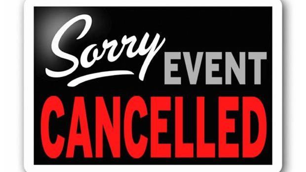 Cancelled for June!